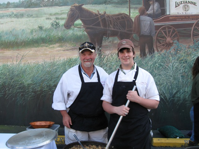 Chef Emile and Laurent Stieffel