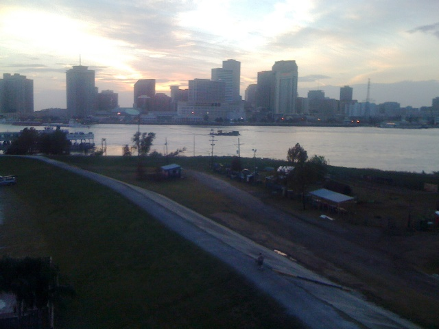 New Orleans from the Westbank