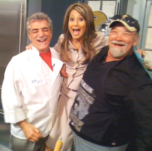 Chef Ricky, Melanie Hebert and myself!