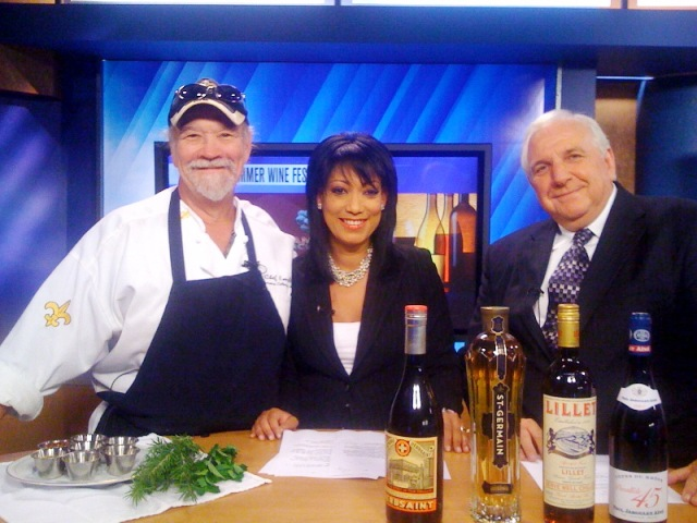 Chef Emile, Liz Reyes, and Frank Stansbury