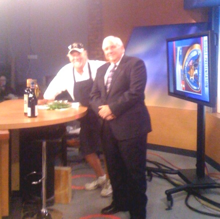 Chef Emile and Frank Stansbury