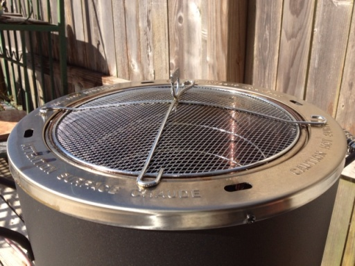 Oil-less Fryer Mesh Lid