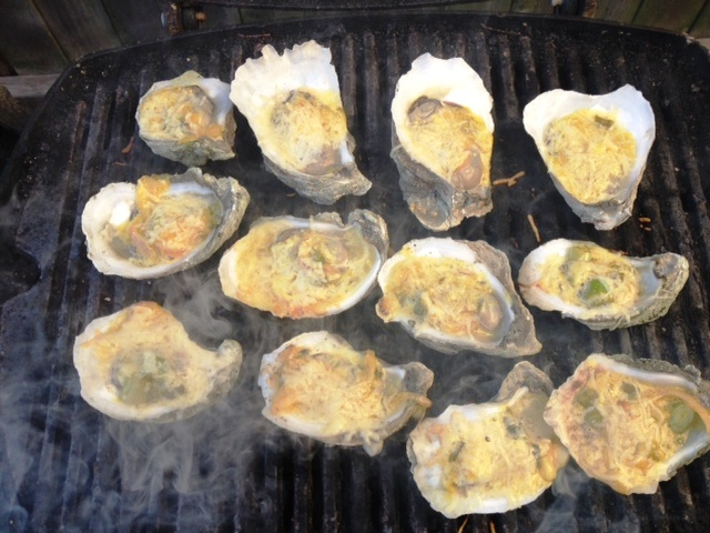 Dill Grilled Oysters