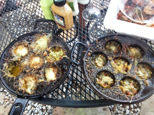 Dill Grilled Touchdown Oysters