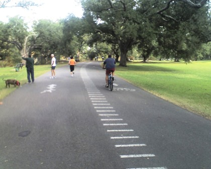Audubon Park Walking Biking Path